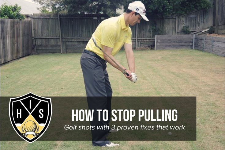 different golf shots and how to hit them
