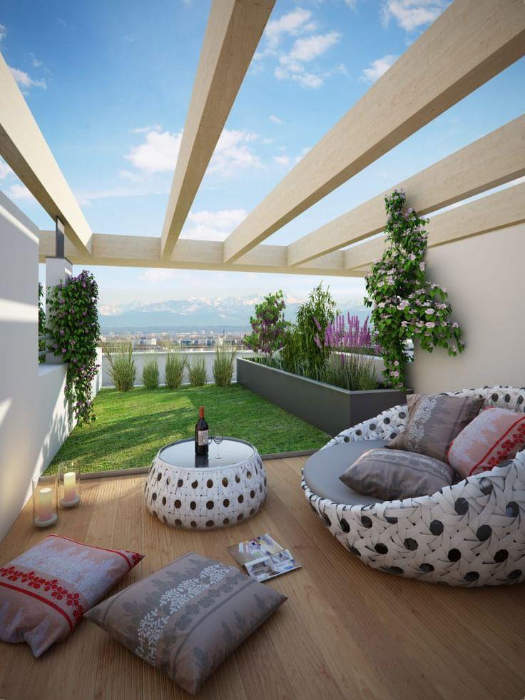 Busca imágenes de Tejados planos de estilo  de winhard 3D. Encuentra las mejores fotos para inspirarte y crea tu hogar perfecto.