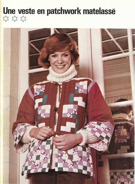 DIY vintage, couture, tricot, loisirs créatifs, années 70: Kimono party !