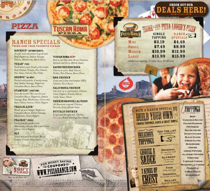 Welcome, Pizza Ranch of Hibbing!