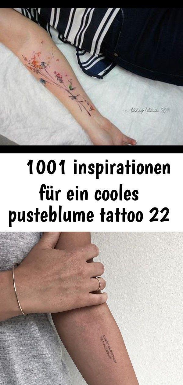 Frau tattoo pusteblume unterarm SKIN STORIES