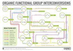 Organic Reaction Map v4