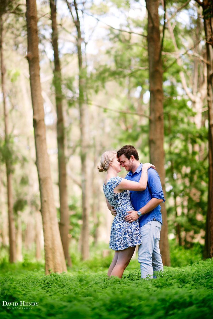 Engagement photos in Centennial Park