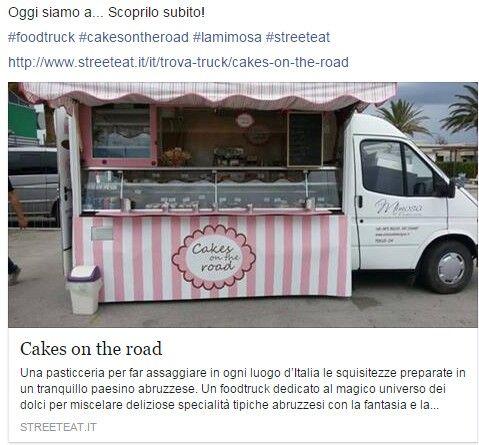 Dove sarà il nostro #foodtruck?#pasticcerialamimosa #cakesontheroad