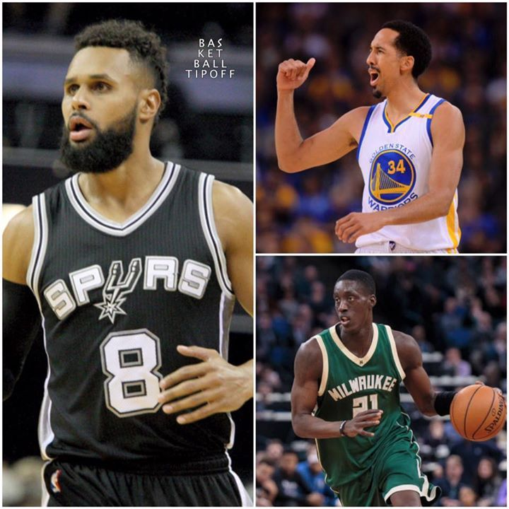 3 other players that agreed to new deals.  Shaun Livingston: 3-year/$24M with the Golden State Warriors  Tony Snell: 4-year/$46M with the Milwaukee Bucks  Patty Mills: 4-year/$50M with the San Antonio Spurs  - AC3