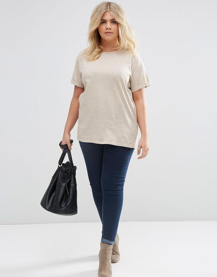 ASOS CURVE The Ultimate Easy T-Shirt at asos.com   @giftryapp