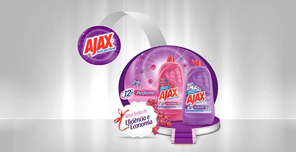 PDV AJAX FESTA DAS FLORES on Behance