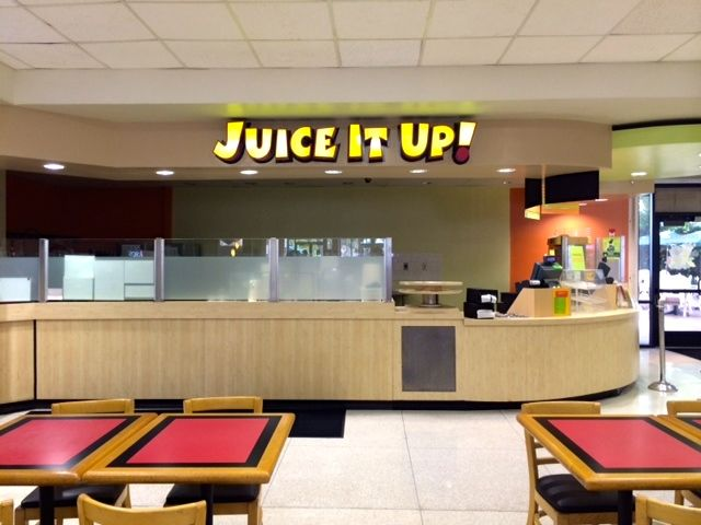 Juice It Up has a lot of great smoothies to choose from! Plus it's located in both West Commons and East Commons!