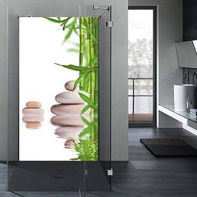r ckwand dusche wandbild fliesenersatz badezimmer wandpaneel bambus ebay for the home. Black Bedroom Furniture Sets. Home Design Ideas