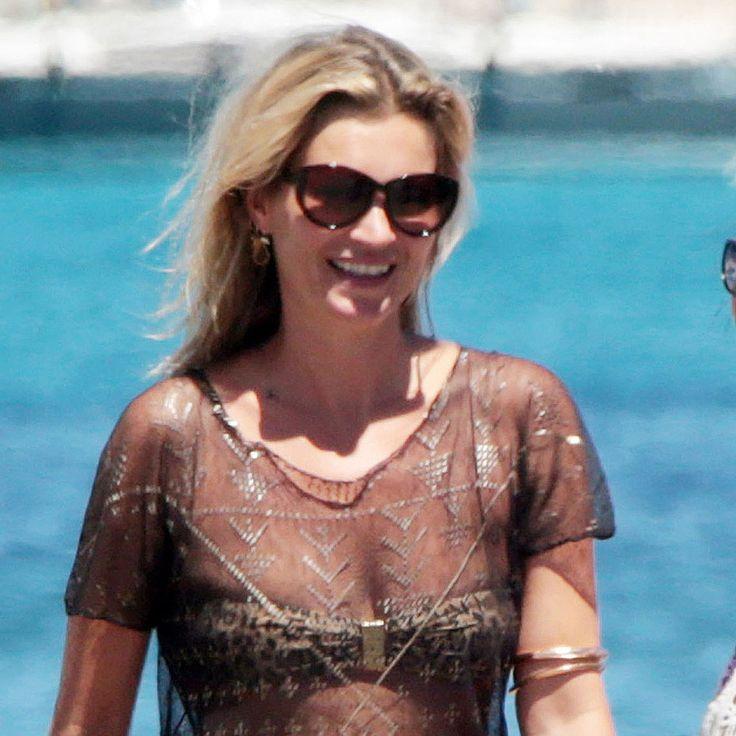 Kate Moss and Her Bikini Breeze Through Spain