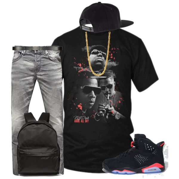 Jordan Infrared 6 T-Shirt| Tee Shirts| Mens T-Shirts| Mens Fashion by njdriveorders on Polyvore featuring polyvore, fashion, style, Jack & Jones, Acne Studios, ALDO, King Ice, Retrò and clothing