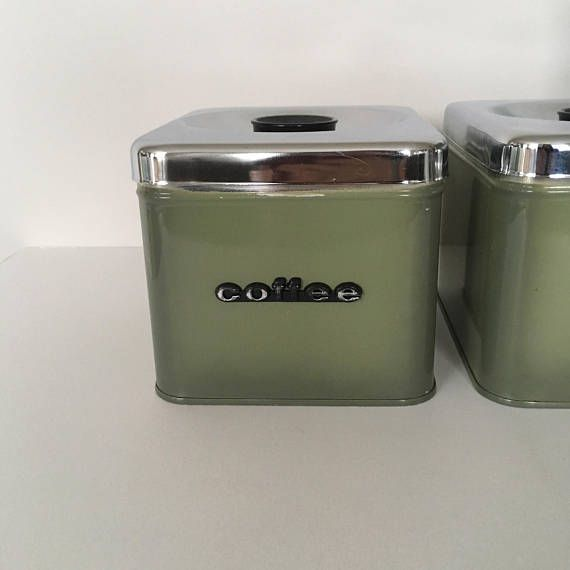 Your Place To Buy And Sell All Things Handmade Small Tea Metal Canisters Coffee Storage