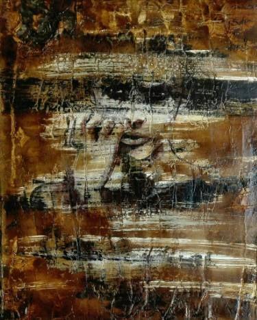 "Saatchi Art Artist Donatella Marraoni; Painting, ""I don't care"" #art"