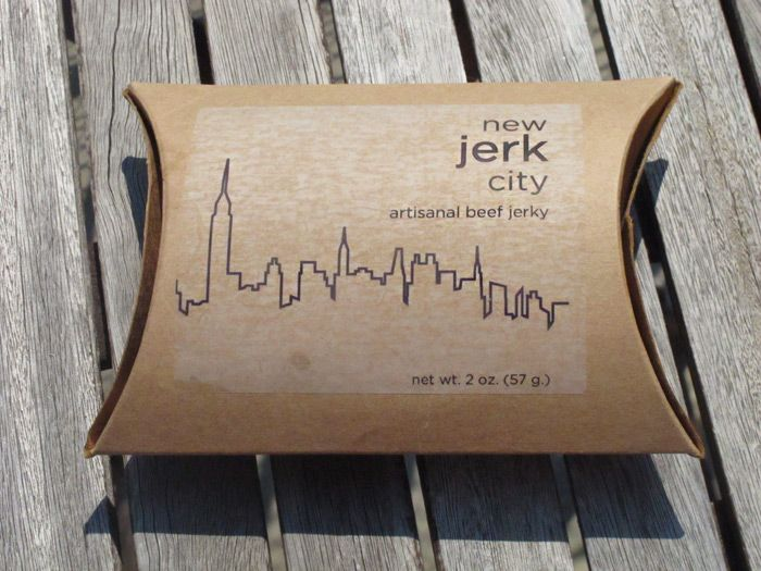 Beef jerky from New Jerk City - Brooklyn Makers