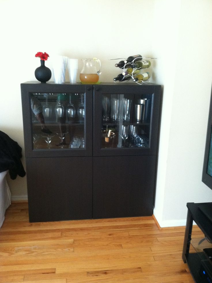 Mini bar cabinet ikea kitchen wall cabinet to modern for Corner bar cabinet ikea
