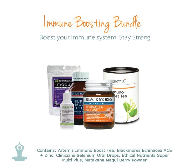 Too many late nights and parties over the festive season can give your immune system a hammering. Restore and strengthen your body with the Immune Boosting Bundle.