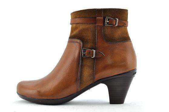 Size 38 Ladies Ankle-boot HI14397 TAN