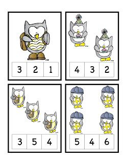 Preschool Printables: Owls