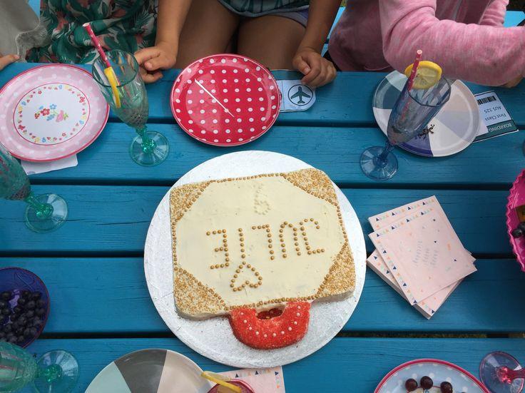Kuffertkagen Temafest - Rejsefest - Fødselsdag