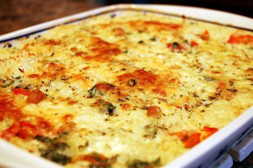 Mennyei csirkés, sajtos rakott rizs - nem lehet betelni ezzel az ízzel!! - Ketkes.com