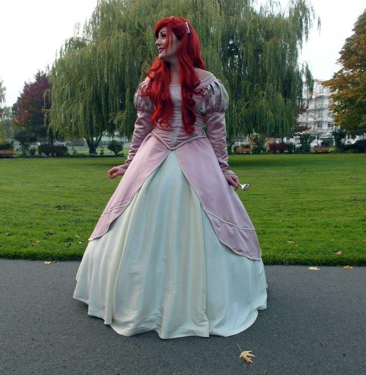 Ariel s Blue Sightseeing Dress Princess Ariel Dress Costume For Adults