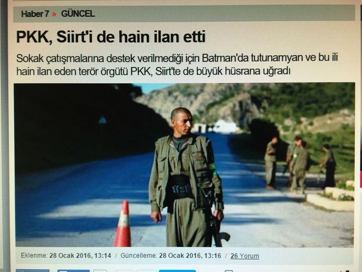 Bir Siirt'li olarak gurur duydum.Türkiye Cumhuriyeti Devletinin bekası herşeyden önce gelir.Kahrolsun hain pkk