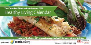 Healthy Living Calendar | Canadian Diabetes Association