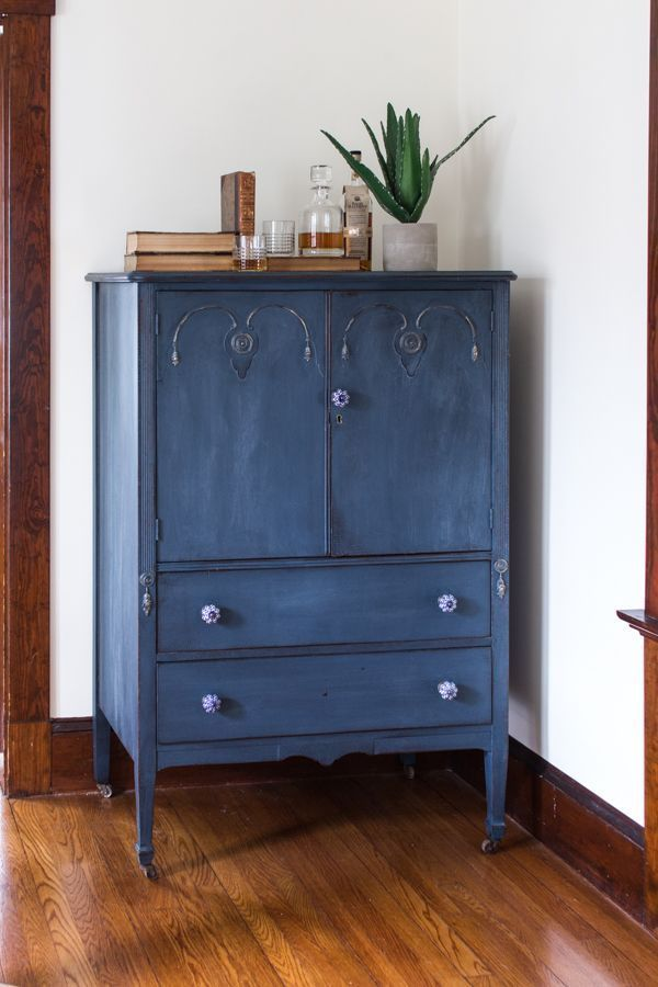 Before & After I The Hayden Cabinet Dresser I Finding Silver Pennies