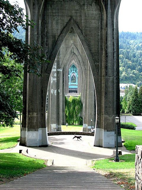 Cathedral Park Portland, Oregon.I want to go see this place one day. Please check out my website Thanks. www.photopix.co.nz