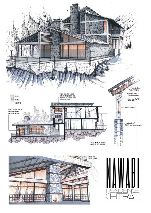 Contemporary Architecture Design Sketches Find This Pin And More Decorating Ideas