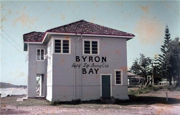 Byron Bay surf club 1960's