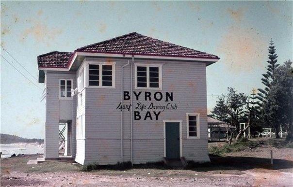 Byron Bay surf club 1960's