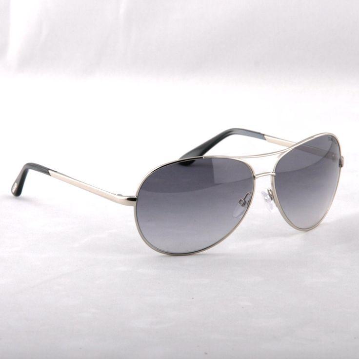 TOM FORD -Charles FT035 Aviator SILVER Sunglasses