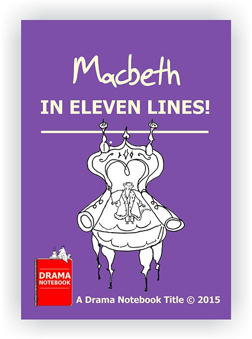 Students can perform Macbeth in under a minute by using this printout of Macbeth in Eleven Lines! Includes instructions.