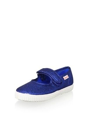 45% OFF Cienta Kid's Mary Jane Sneaker (Royal Blue)