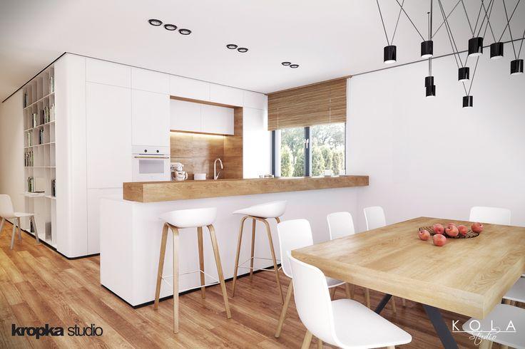 Kitchen -  www.kropka-studio.pl