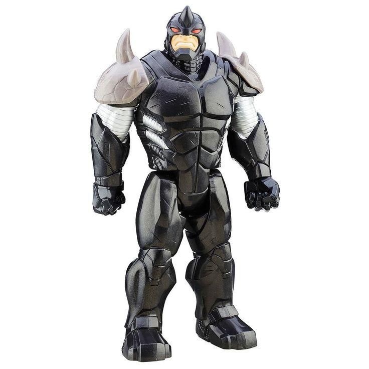 Marvel Ultimate Spider-Man vs. Sinister 6 Titan Hero Series Rhino Figure by Hasbro, Multicolor