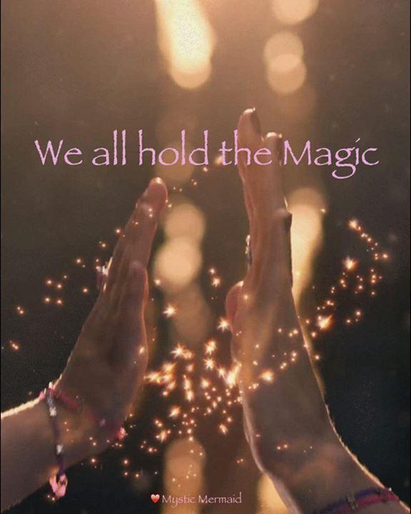Hold the magic