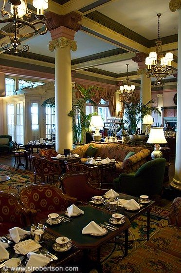 High Tea at the Fairmont Empress Hotel  Victoria, Vancouver Island