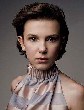 "dailystrangerthings: ""Millie Bobby Brown for Revista Somos (October 2017). """