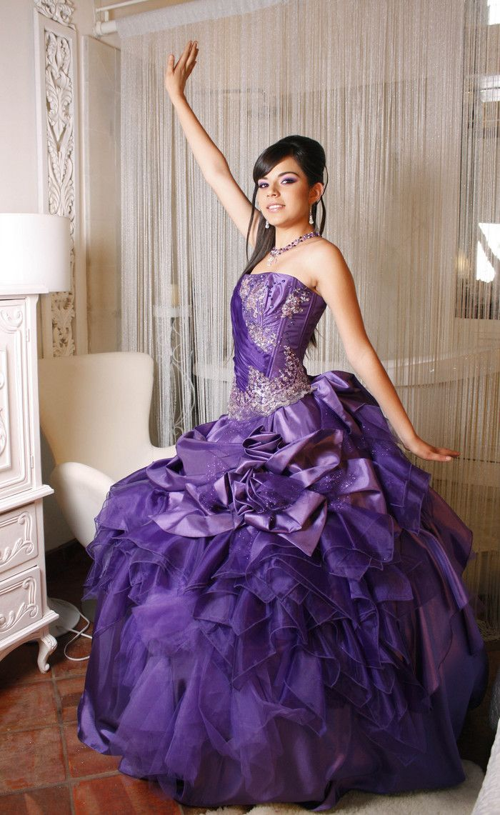 The 86 best Quinceanera Dresses images on Pinterest   Quince dresses ...