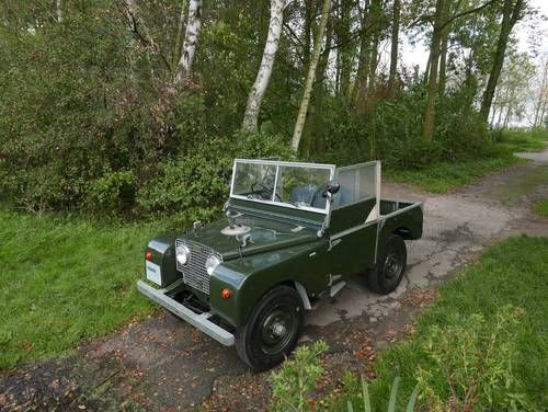 """1950 Land Rover Series 1 80"""" For Sale"""