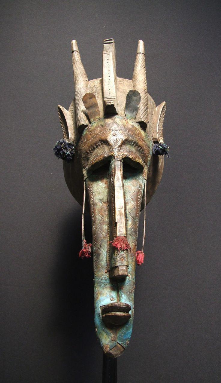 African tribal Marka mask, Mali
