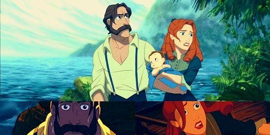 Tarzans Parents