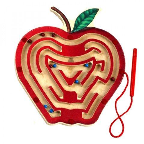 det magnetiska äpplet - labyrint från Anatex