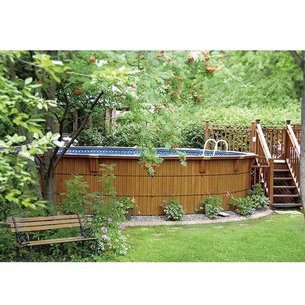 Je veux cette piscine de bois! I want this Wooden pool!  #ListeDeSouhait #WishList #Concours #Contest  Participez vous aussi pour courir la chance de gagner une carte-cadeau de 250$ chez Club Piscine Super Fitness.  Participate for a chance to win a $250 Club Piscine Super Fitness gift card.  http://woobox.com/gg7o9w par www.clubpiscine.ca