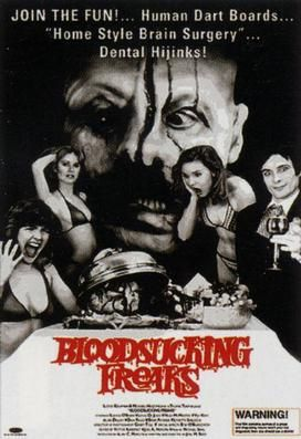 Sangre que aspira Freaks es una pelicula del cine de explotación - salpicadura de la película. Tiro bajo el título Sardu: Maestro de las Ví...