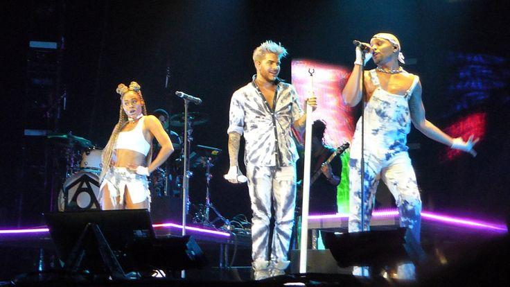 04/30/16 Adam Lambert Warsaw, Poland TOH Tour