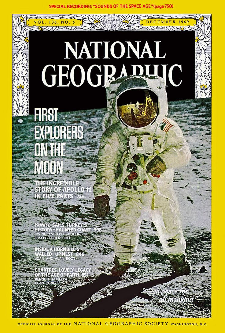 "https://flic.kr/p/zKfCqo | Apollo 11:  ""First Explorers on the Moon"", National Geographic, December 1969 