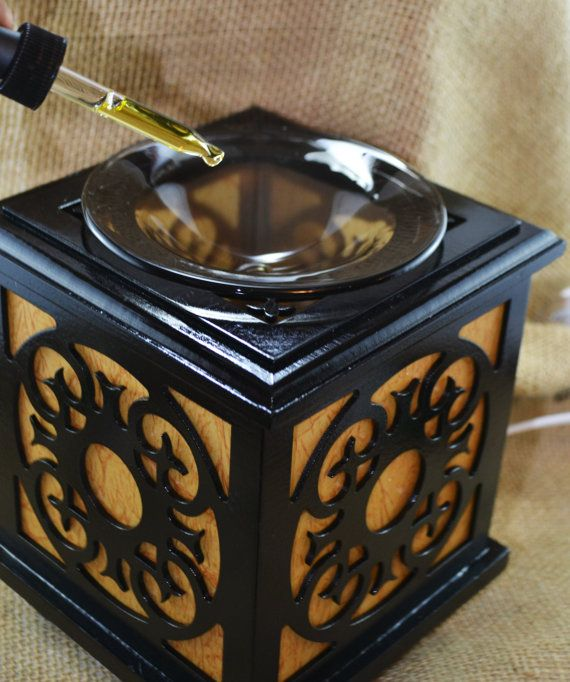 Wooden plug in diffuser with light adjustment Add your favourite fragrance or…